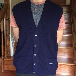 Vintage Burberry Vest